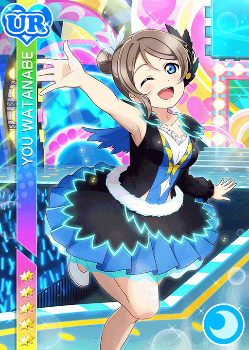 #1592 Watanabe You UR idolized