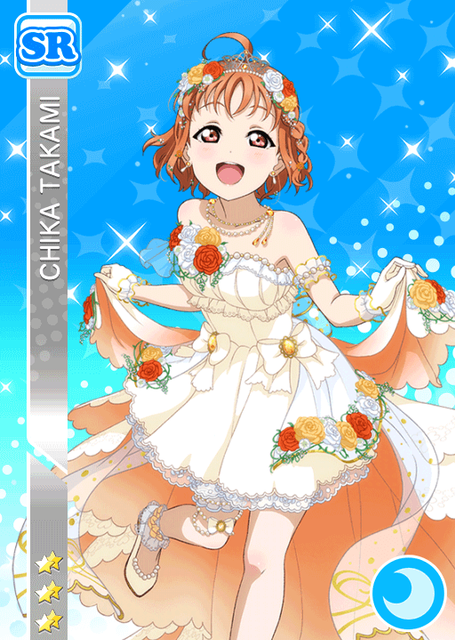 #1595 Takami Chika SR idolized
