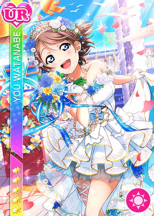 #1599 Watanabe You UR idolized