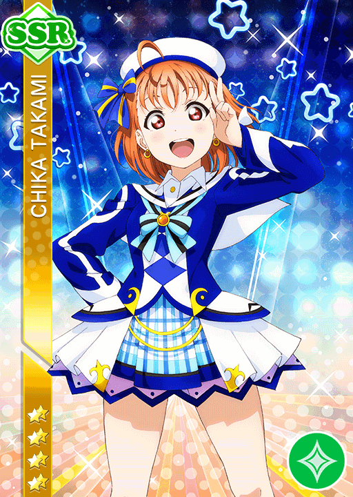 #1620 Takami Chika SSR idolized
