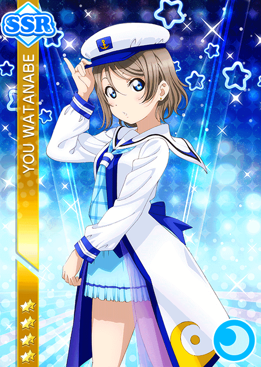 #1624 Watanabe You SSR idolized