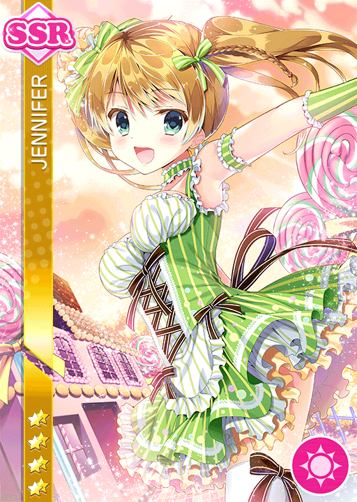 #1665 Jennifer SSR idolized