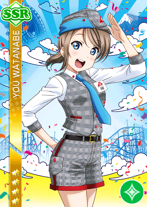 #1670 Watanabe You SSR idolized