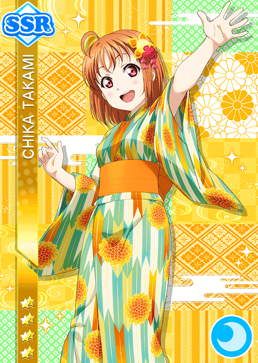 #1694 Takami Chika SSR idolized