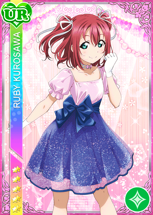 #1722 Kurosawa Ruby UR idolized