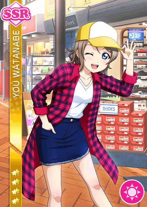 #1744 Watanabe You SSR idolized