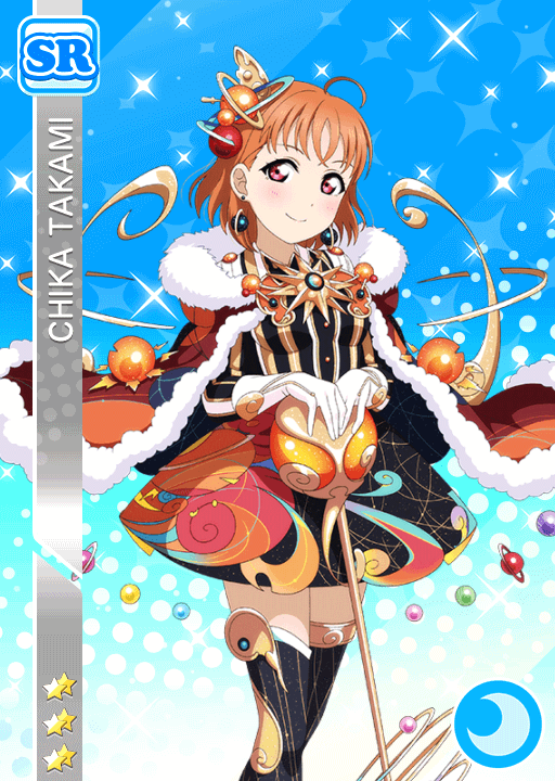 #1749 Takami Chika SR idolized