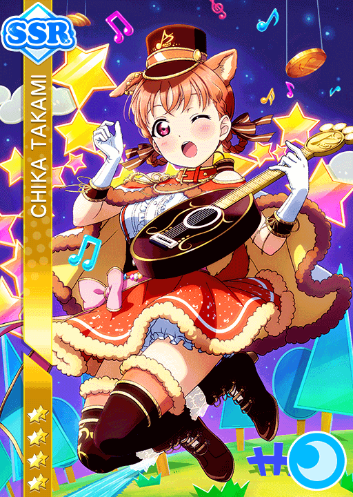 #1767 Takami Chika SSR idolized