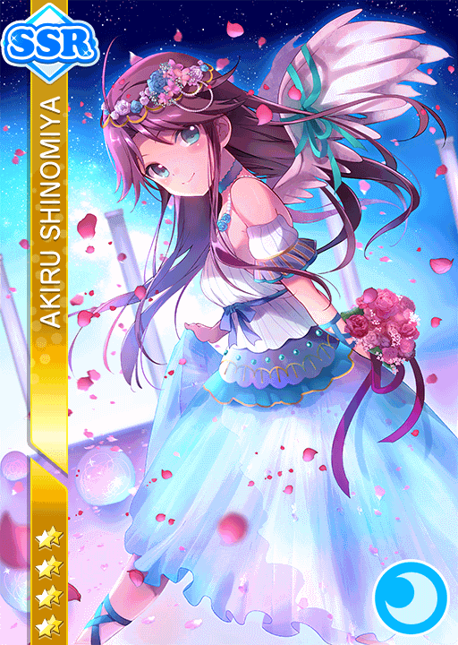 #1783 Shinomiya Akiru SSR idolized
