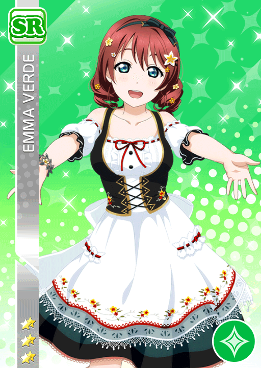 #1800 Emma Verde SR idolized