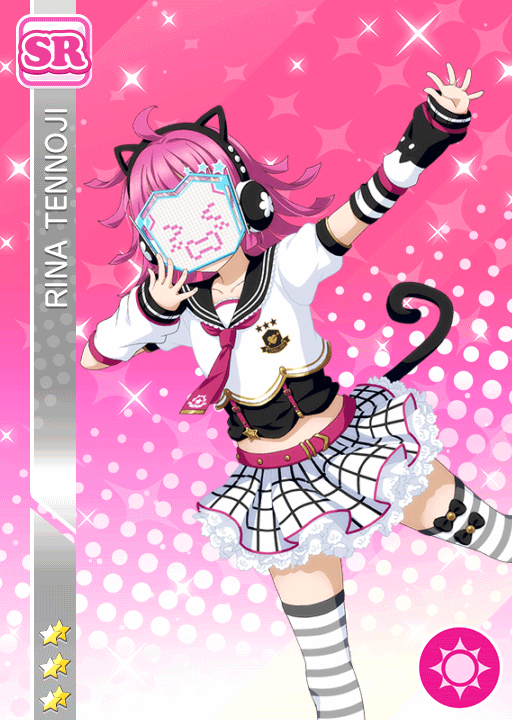 #1801 Tennoji Rina SR idolized