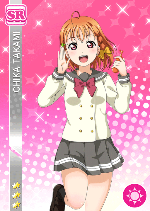 #1813 Takami Chika SR idolized