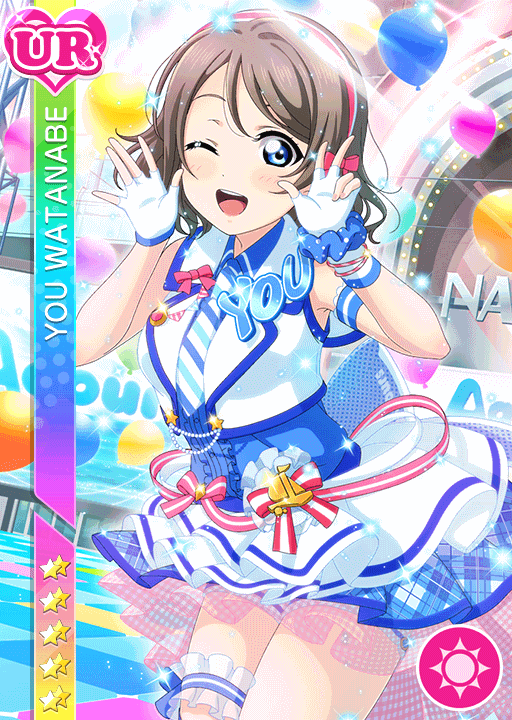 #1838 Watanabe You UR idolized