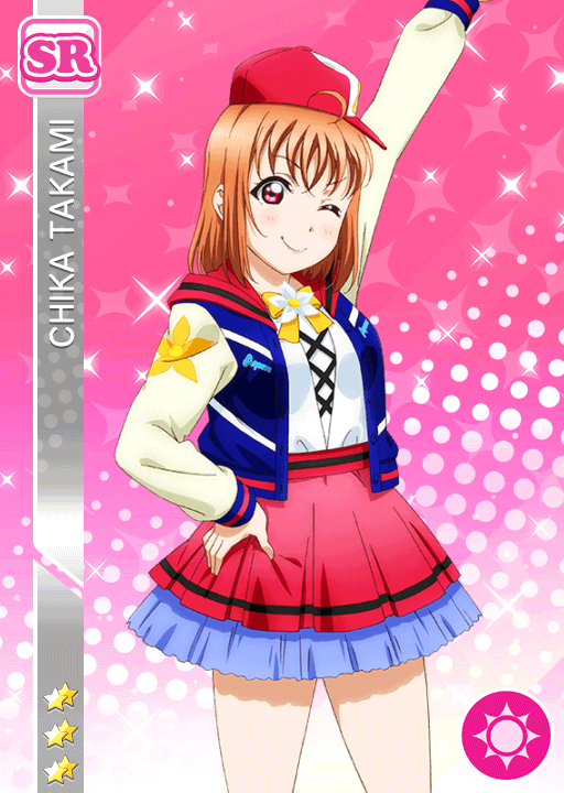 #1846 Takami Chika SR idolized