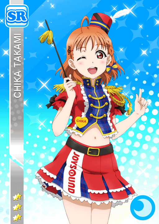 #1865 Takami Chika SR idolized