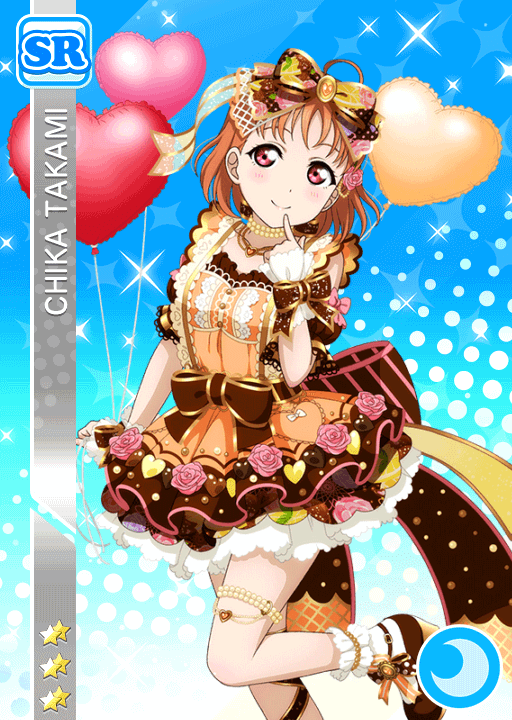 #1908 Takami Chika SR idolized