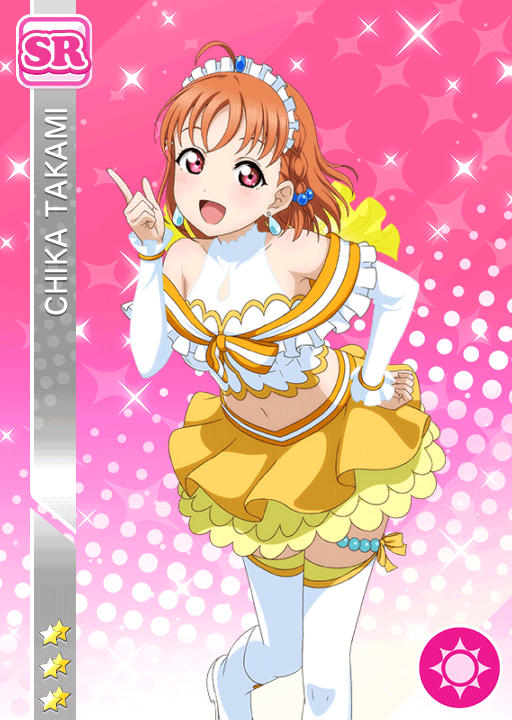 #1912 Takami Chika SR idolized
