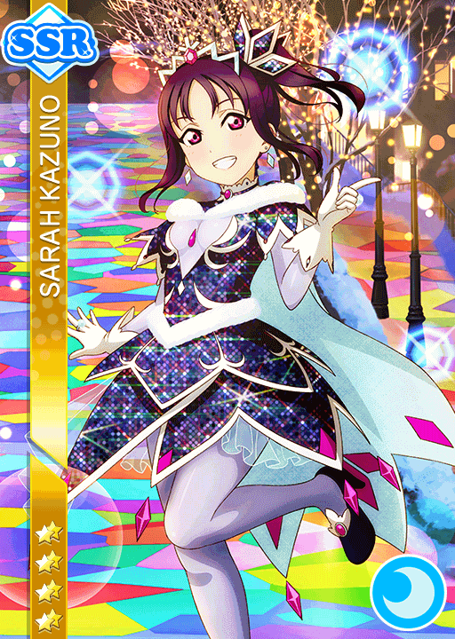 #1946 Kazuno Sarah SSR idolized