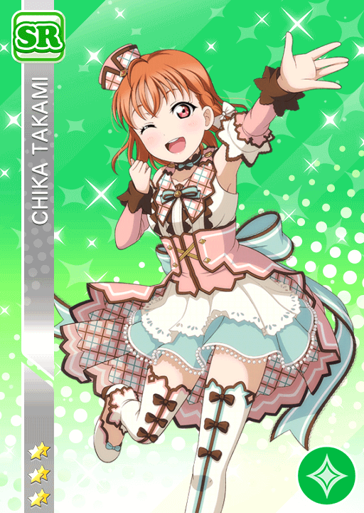 #1947 Takami Chika SR idolized
