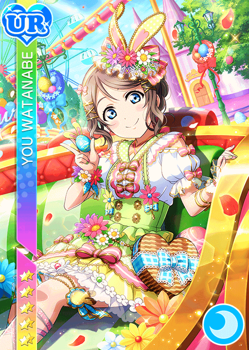 #1961 Watanabe You UR idolized