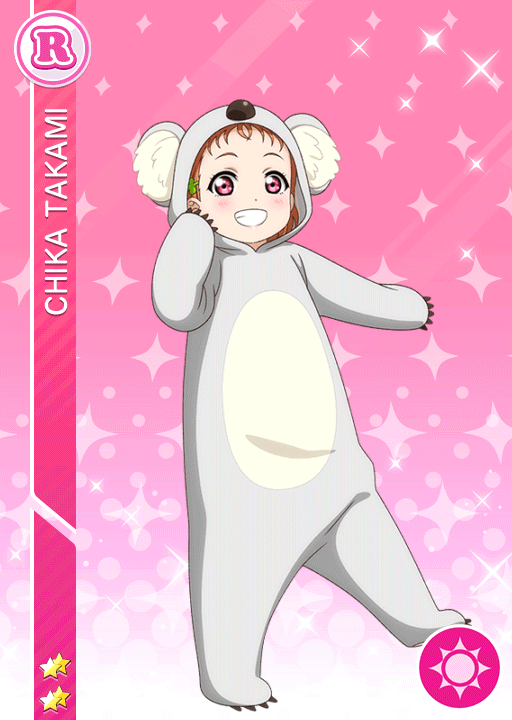 #1971 Takami Chika R idolized
