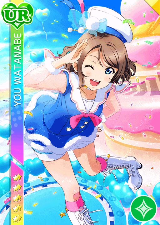 #1997 Watanabe You UR idolized