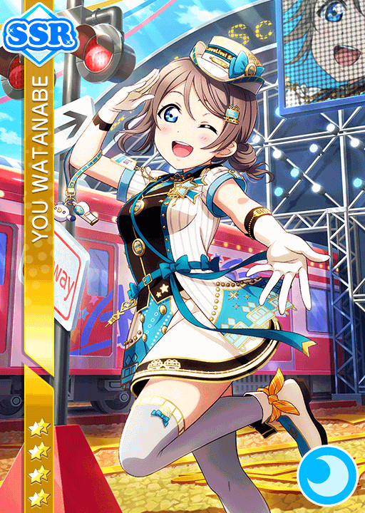 #2028 Watanabe You SSR idolized