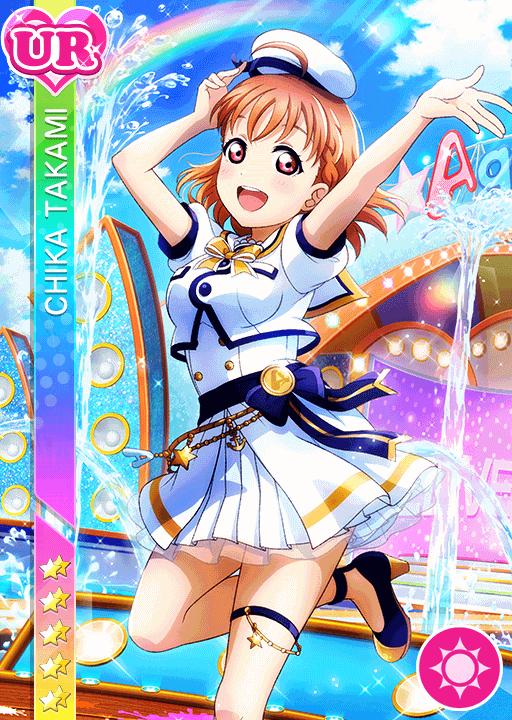 School Idol Tomodachi Cards Album 2034 Takami Chika Ur