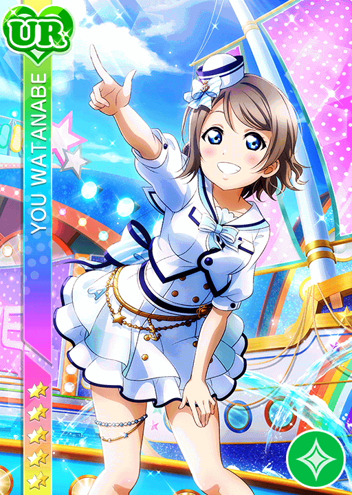 #2036 Watanabe You UR idolized