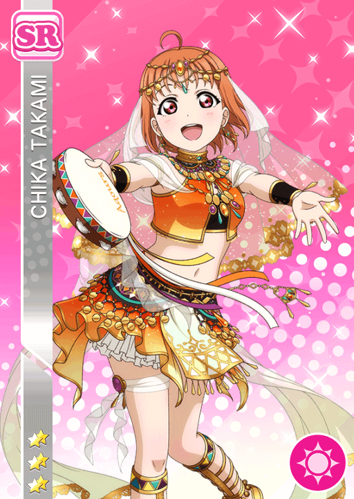 #2042 Takami Chika SR idolized