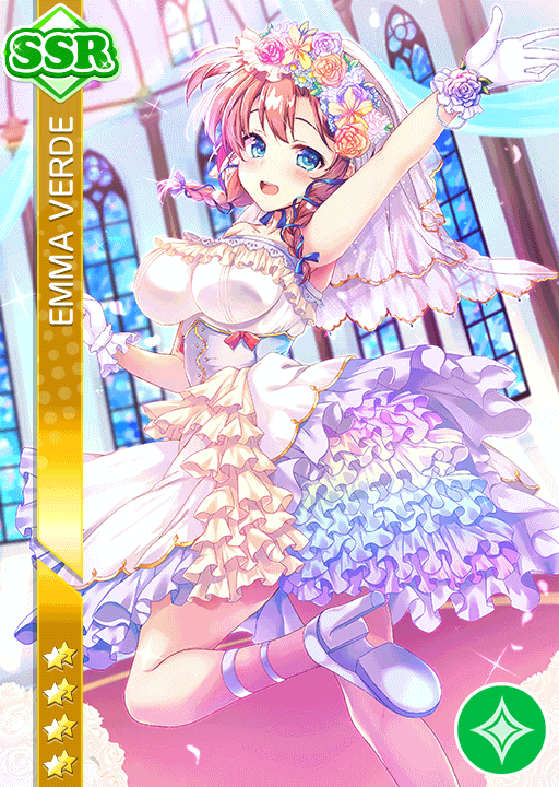 #2067 Emma Verde SSR idolized