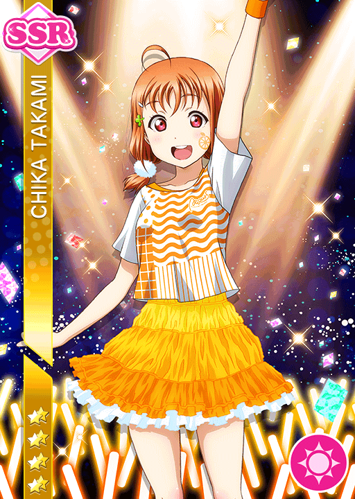 #2091 Takami Chika SSR idolized
