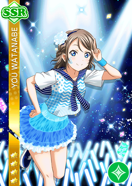 #2095 Watanabe You SSR idolized