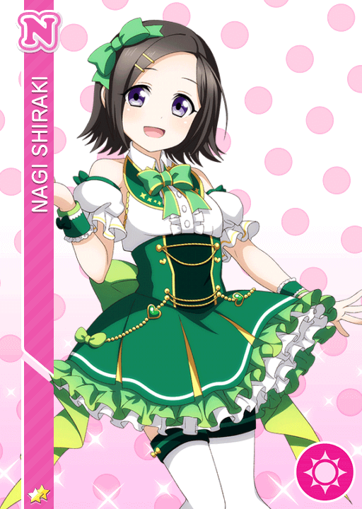#2127 Shiraki Nagi N idolized