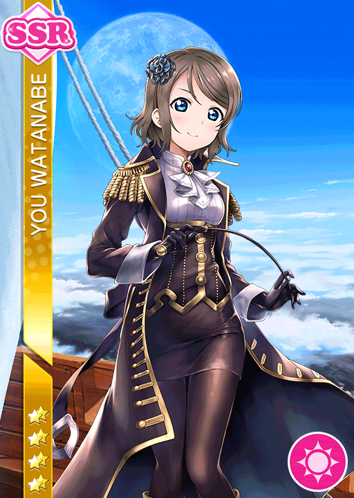 #2169 Watanabe You SSR idolized