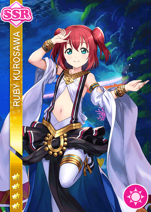 #2173 Kurosawa Ruby SSR idolized