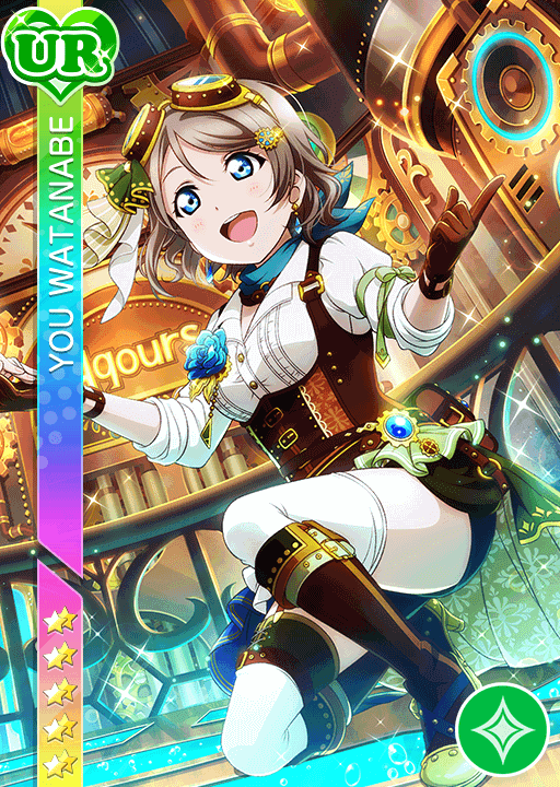 #2206 Watanabe You UR idolized