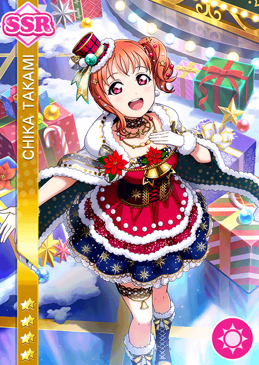 #2228 Takami Chika SSR idolized