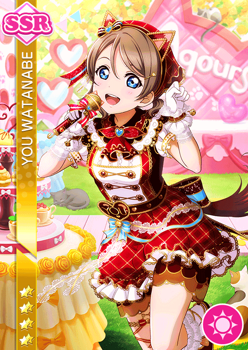 #2278 Watanabe You SSR idolized
