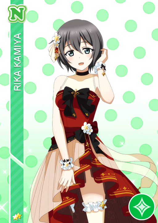 #2292 Kamiya Rika N idolized