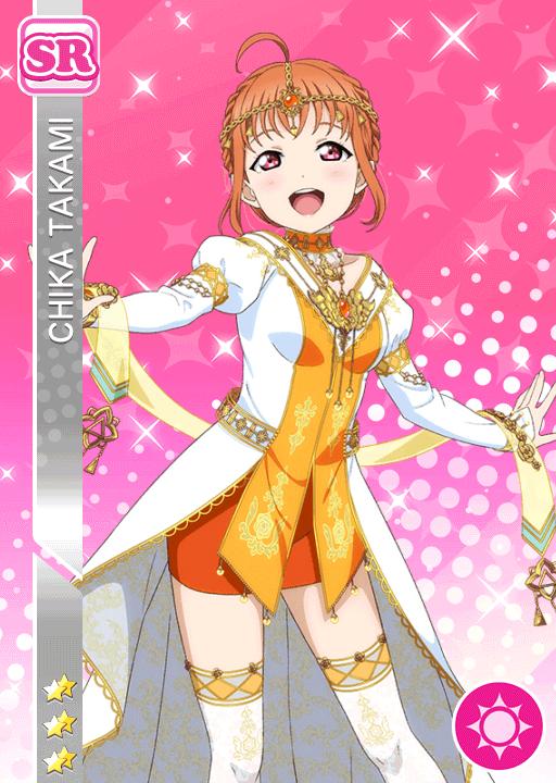 #2299 Takami Chika SR idolized