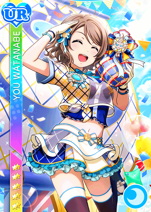 #2359 Watanabe You UR idolized