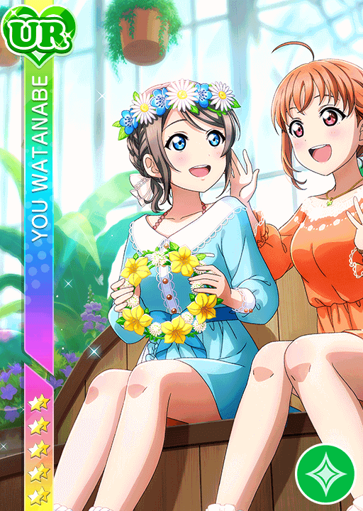 #2397 Watanabe You UR idolized