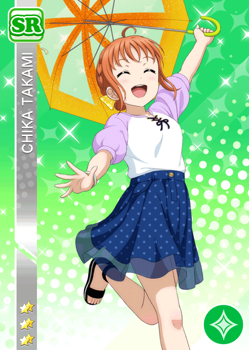 #2399 Takami Chika SR idolized
