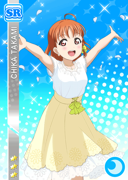 #2431 Takami Chika SR idolized