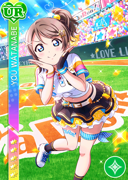 #2454 Watanabe You UR idolized