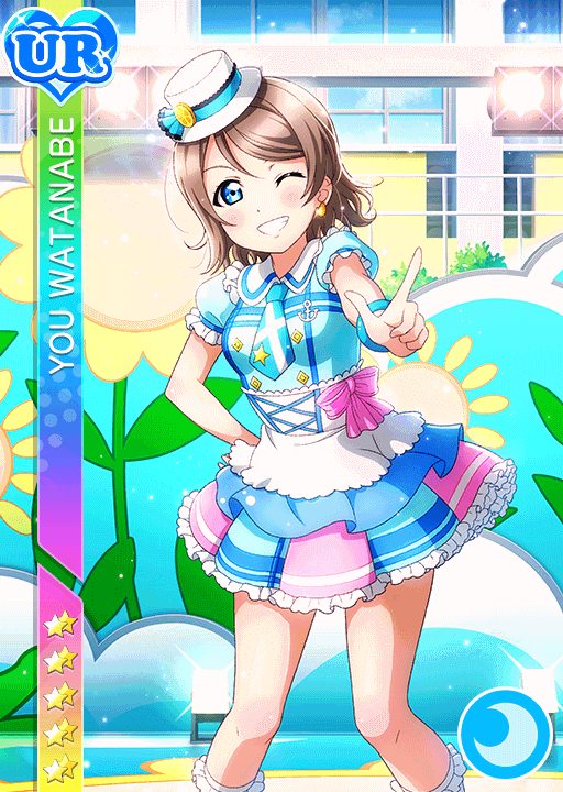 #2482 Watanabe You UR idolized