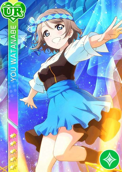 #2508 Watanabe You UR idolized