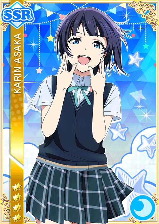 #2516 Asaka Karin SSR idolized