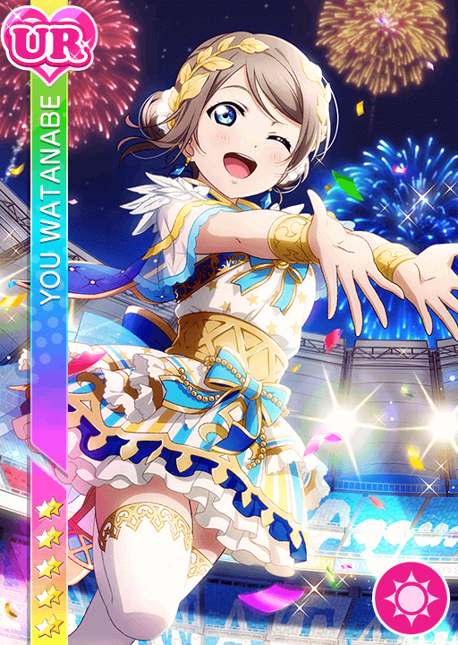 #2531 Watanabe You UR idolized